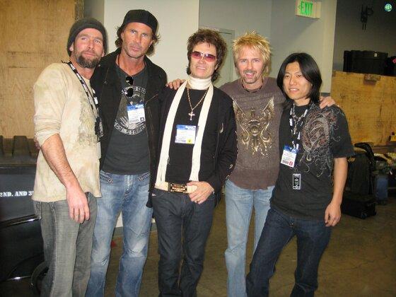 Glenn, Chad and Friends NAMM 2008