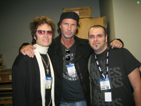 Glenn, Chad and Matteo - NAMM 2008