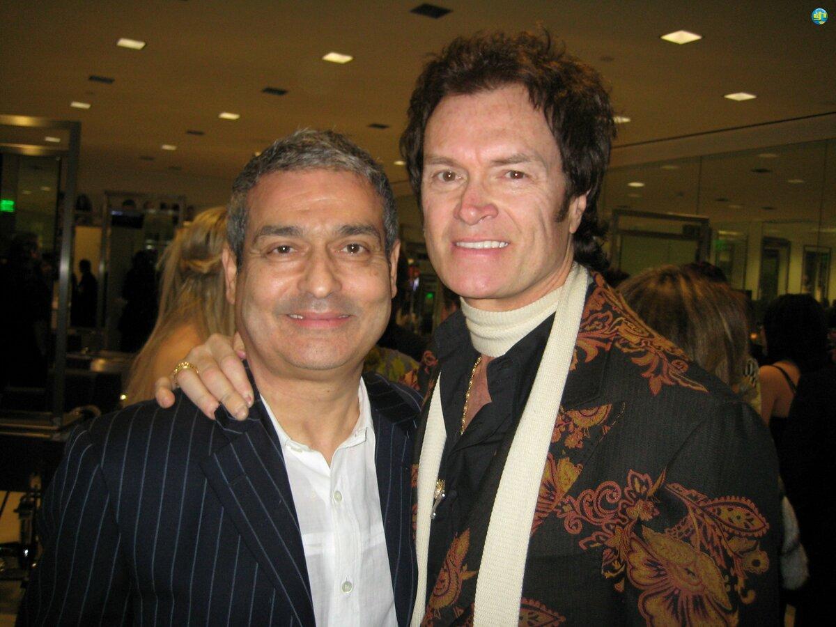 Glenn and Guy Mascolo