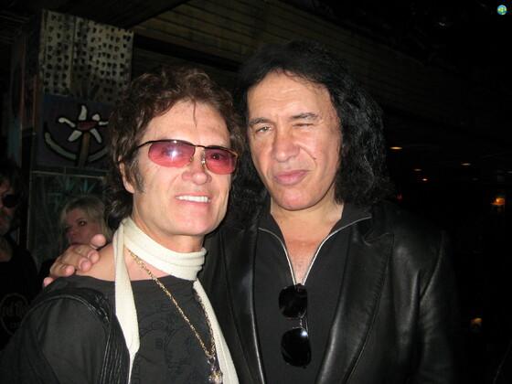 Glenn with Gene Simmons
