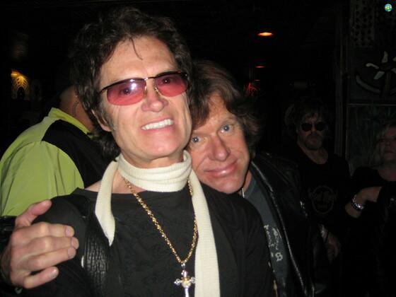 Glenn with Keith Emerson