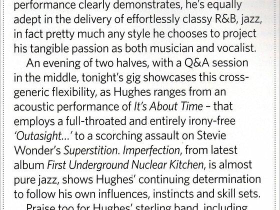 Classic Rock UK - Robin 2 review Wolverhampton 2008