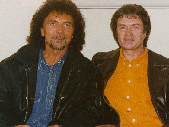 GLENN with Tony Iommi