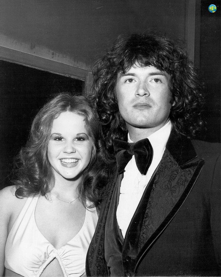 Glenn with Linda Blair
