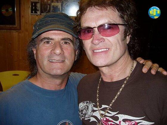 Glenn with Marc Storace