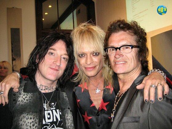 Ginger, Michael Monroe & Glenn