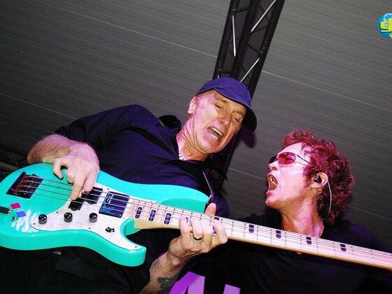 Billy Sheehan and Glenn