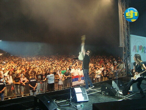 Live in Serbia 17.July The MOST FEST