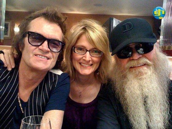 Glenn, Gabi and Dusty Hill