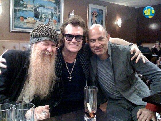 Glenn with Billy Gibbons & John Varvatos