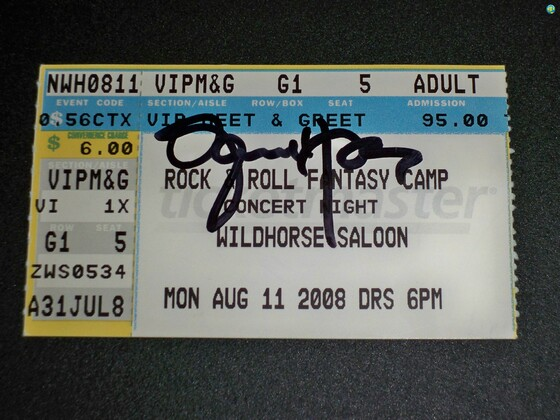 Treasured Ticket