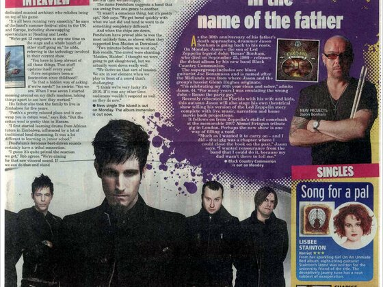 DAILY MIRROR September 17th, 2010