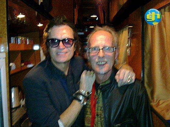 Glenn with Bob Crawford