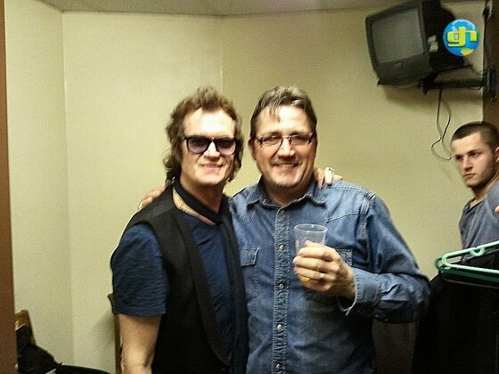Glenn and Terry
