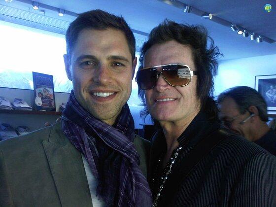 Sam Page and Glenn