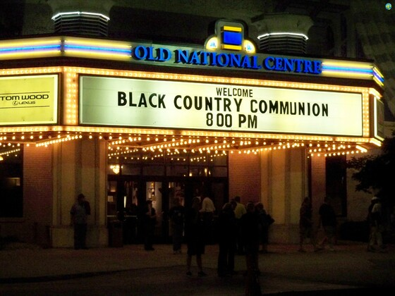 BCC @ Murat Theater/Old National Centre - Indianapolis USA  June 15, 2011