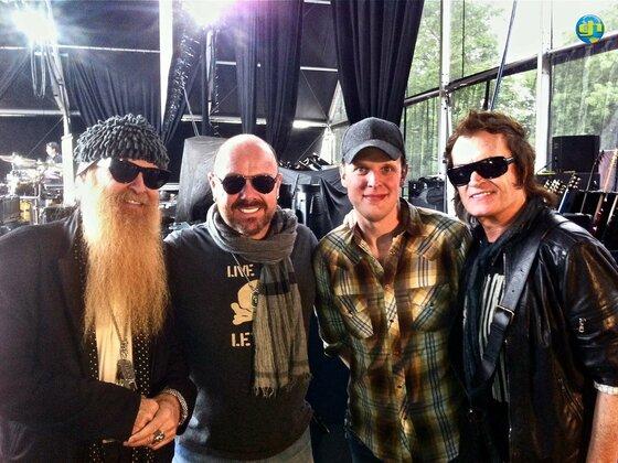 Billy, Jason, Joe and Glenn