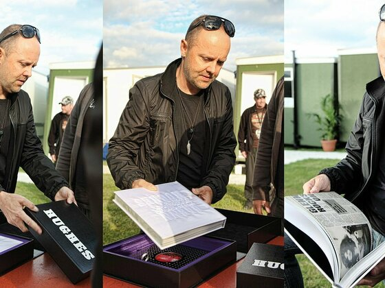 Lars gets the Autobiography