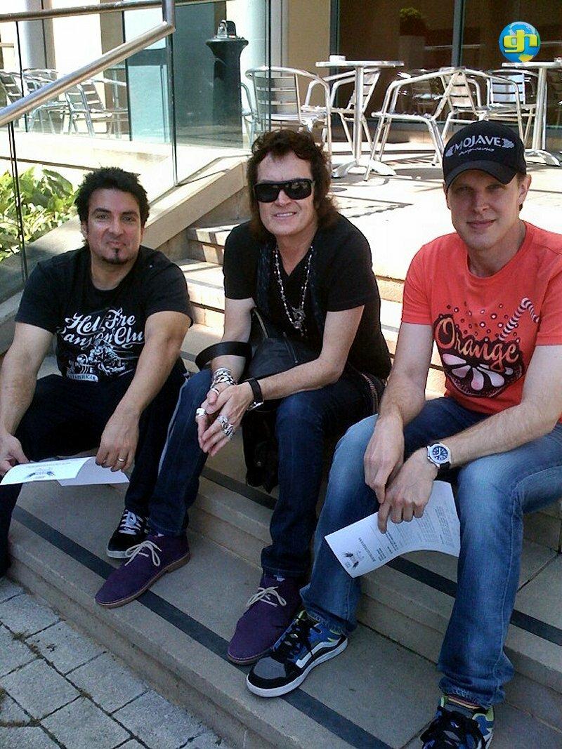 Derek, GH and JoeB