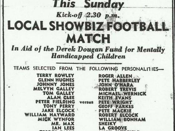 Local Showbiz Football Match