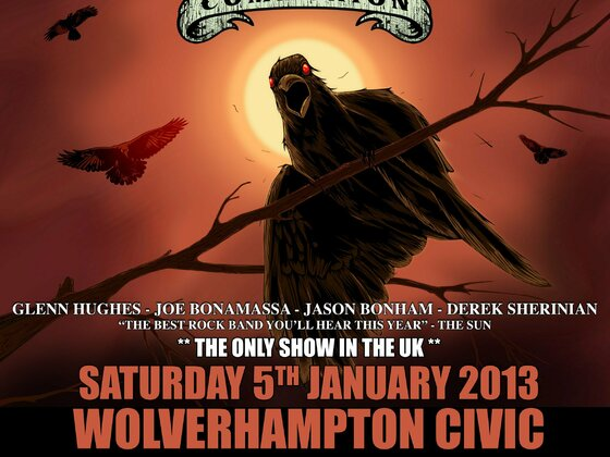 Black Country Communion LIVE in UK 2013