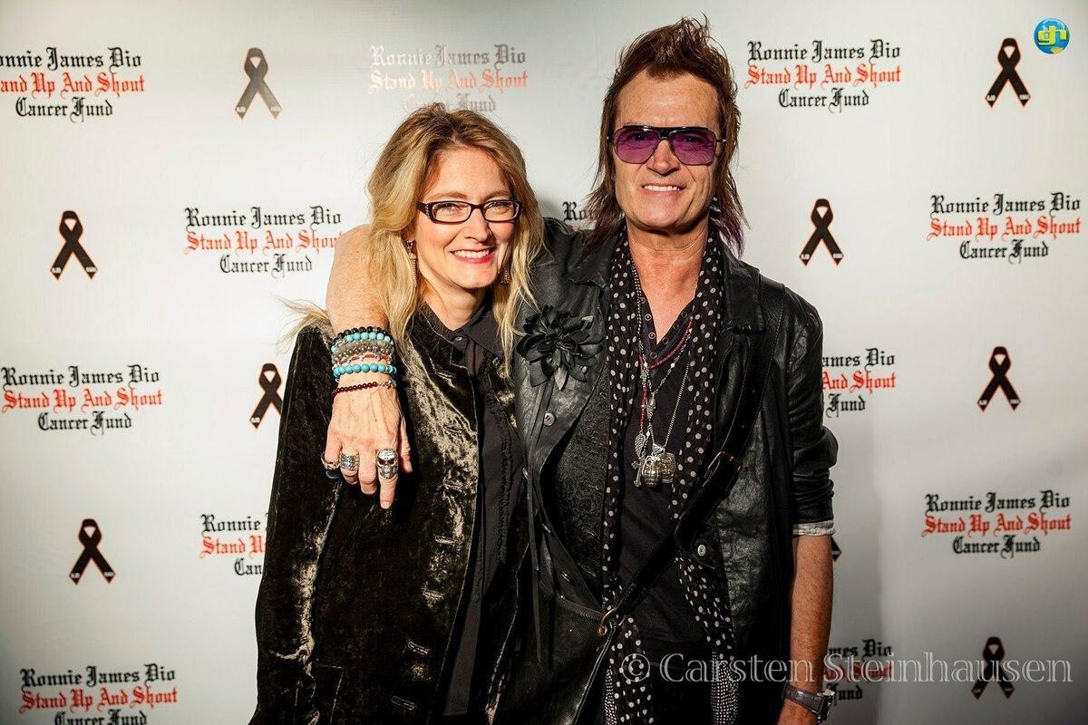 Gabi and Glenn Hughes ~ Hollywood 2012