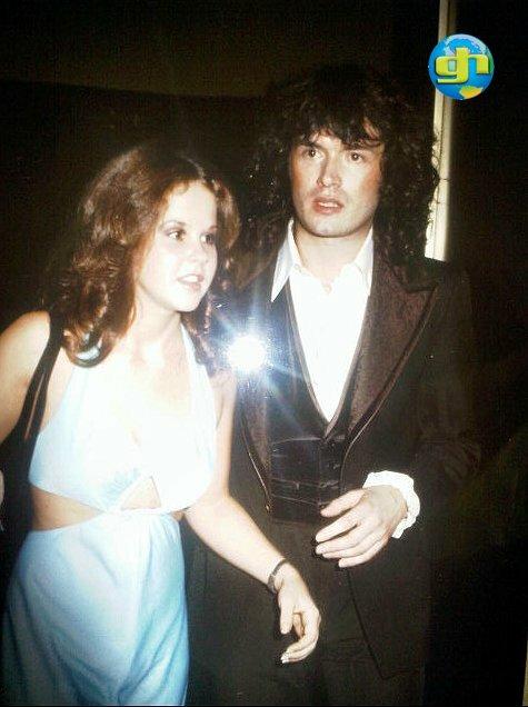 Linda Blair and Glenn 1977