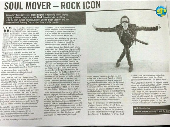 Soul Mover - Rock Icon