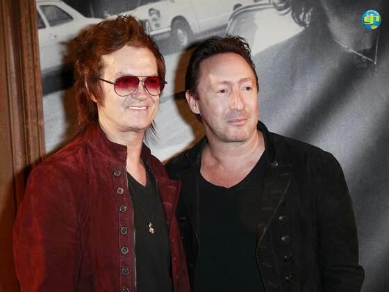 Glenn Hughes and Julian Lennon 2013