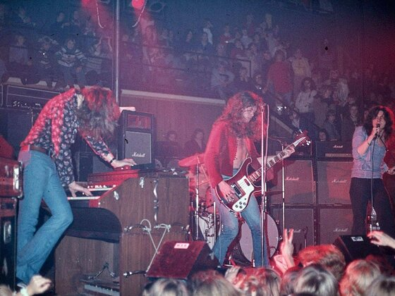 MK III live debut 1973