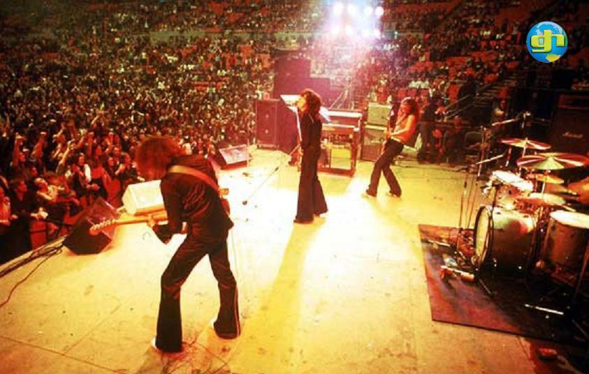 Burn Tour 1974