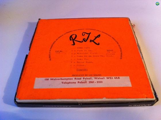 Rare Demo Tape Trapeze