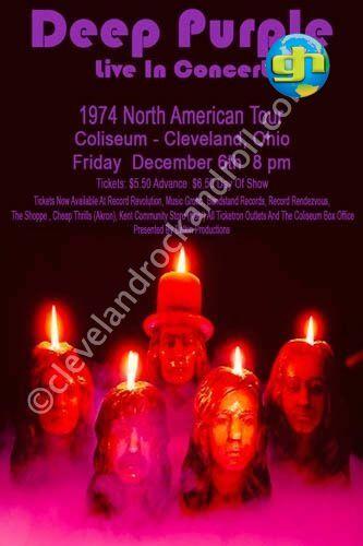 Burn Tour USA 1974