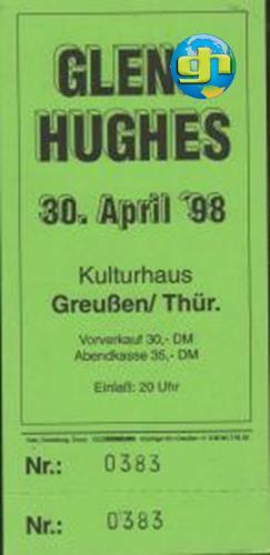 German Tour 1998