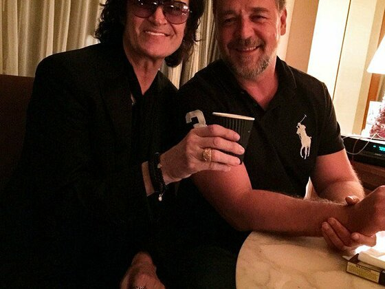 Glenn Hughes & Russell Crowe