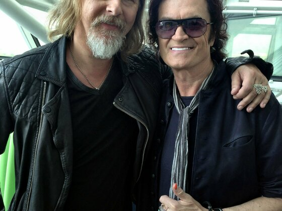 Jerry Cantrell and Glenn Hughes