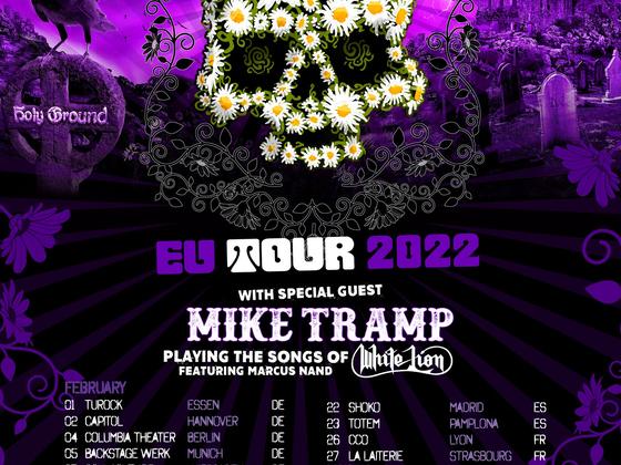 The Dead Daisies EUROPE Tour 2022