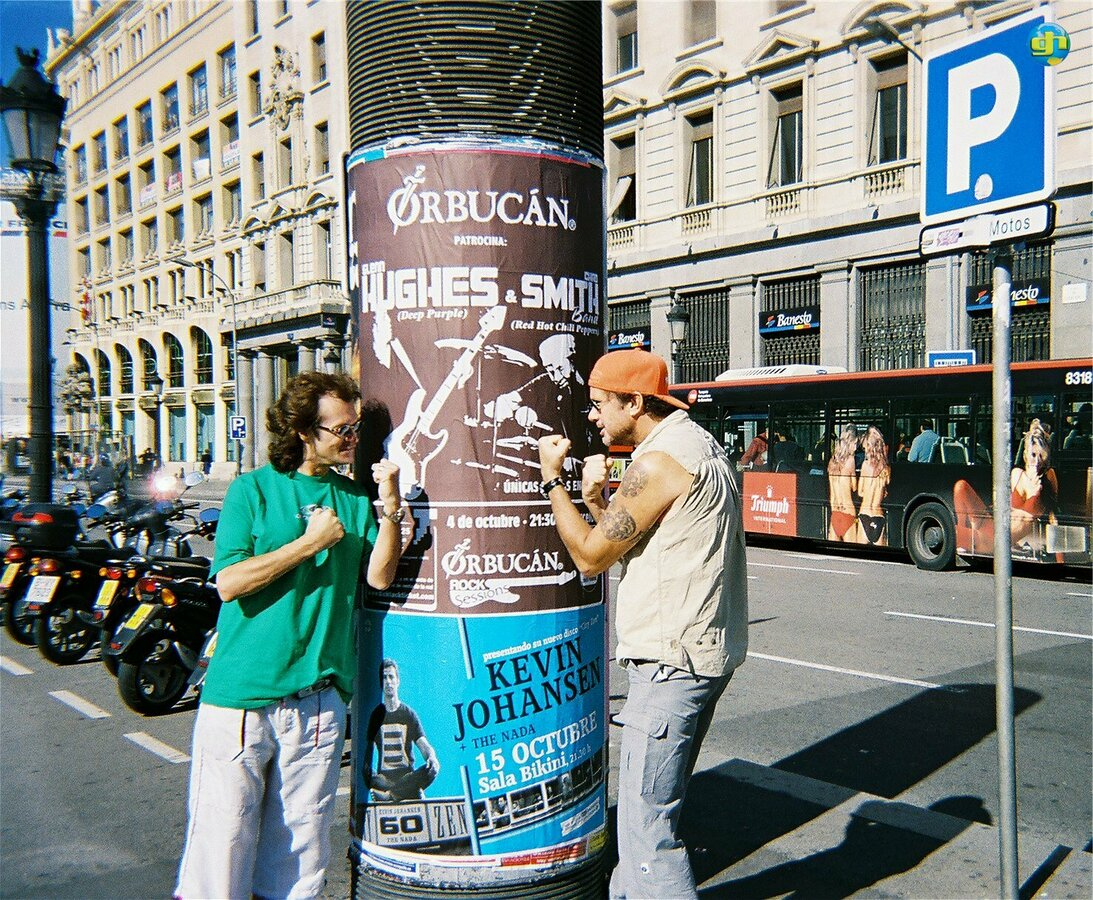 GLENN & CHAD in Barcelona