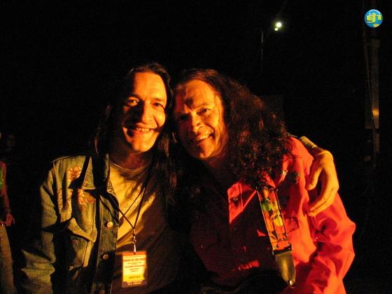 rob & glenn on stage arenzano 2004