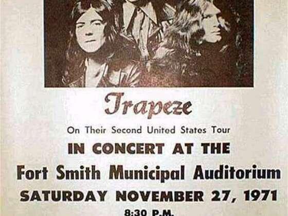 1971 US Tour Poster