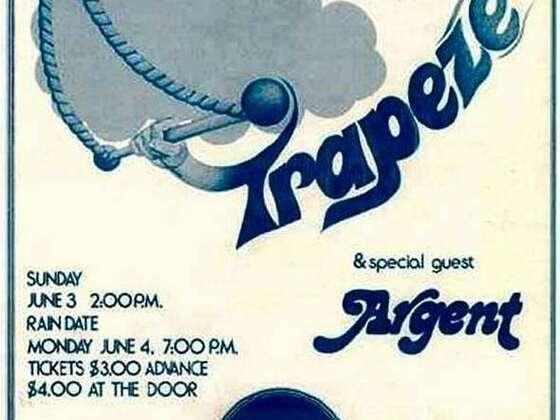 1972 US Tour Poster
