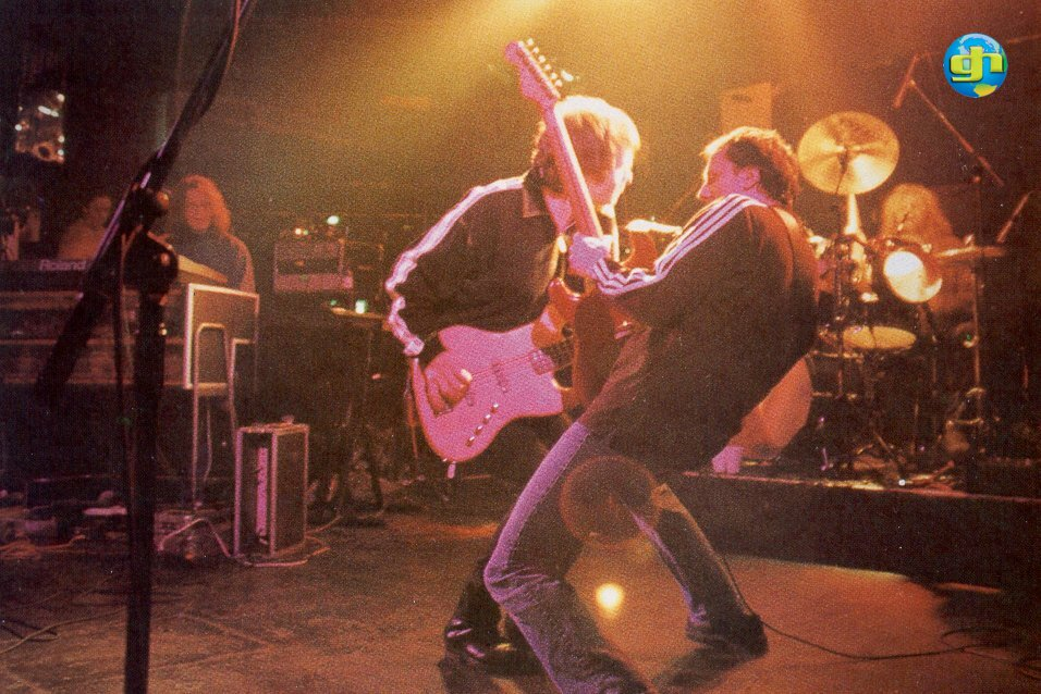 Live Onstage in 1996