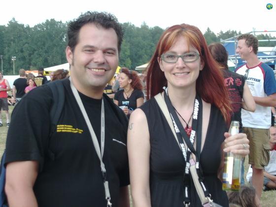 Achim (Schreinermusic) and Gabrielle