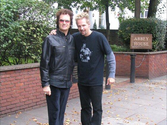 GLENN and Jeff at Abbey Road