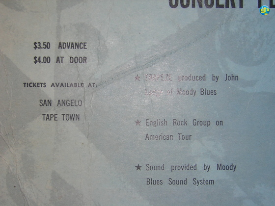 Close-up of 1972 poster