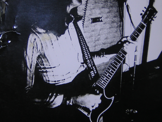 Mel Galley on a Gibson SG