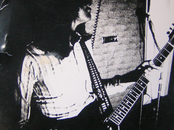 Mel Galley on Gibson SG
