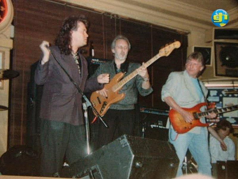 Glenn with John Entwistle & Mick Ralphs