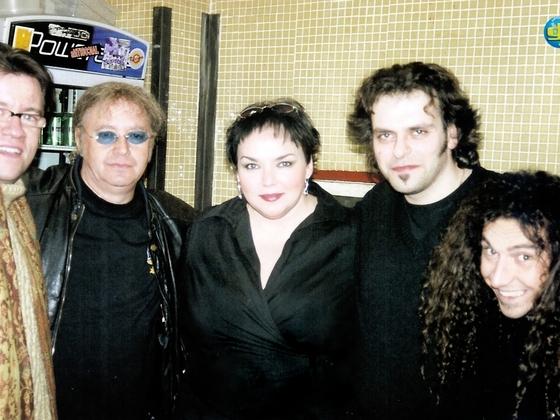 Me with Ian Paice & Matt Filippini (Madrid 26/01/07)