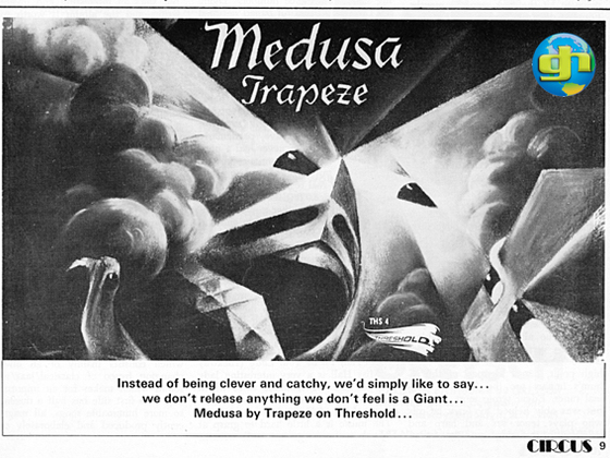 Medusa advert May 1971 Circus Magazine